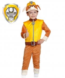Детский карнавальный костюм Щенячий Патруль-Крепыш