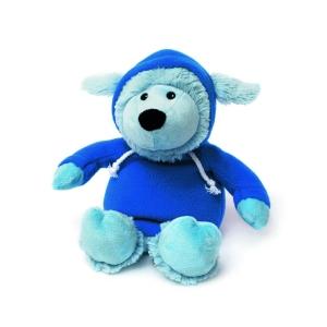 Игрушка-грелка Овечка в худи голубая