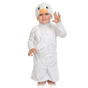 Детский карнавальный костюм из плюша Гусёнок