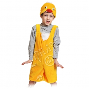 Детский карнавальный костюм из плюша Цыплёнок