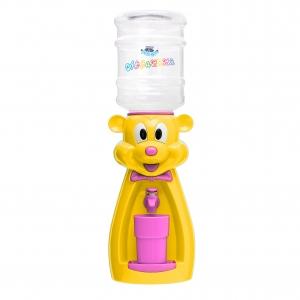 Детский кулер для воды Мышка желтая с розовым — АкваНяня