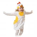 Детский карнавальный костюм из плюша Курочка