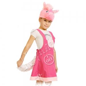 Детский карнавальный костюм Лошадка Роза