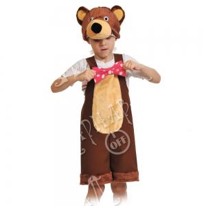 Детский карнавальный костюм Медведь цирковой
