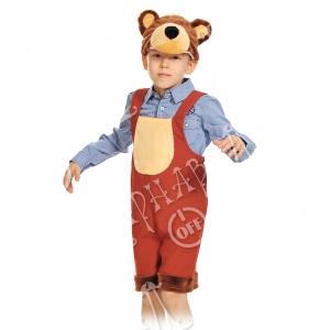 Детский карнавальный костюм Мишка бурый