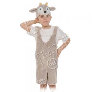Детский карнавальный костюм из плюша Козлик