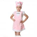 Детский карнавальный костюм из плюша Кошечка