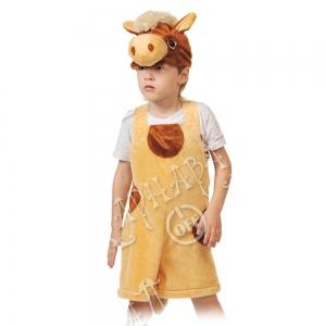 Детский карнавальный костюм из плюша Коник
