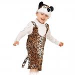 Детский карнавальный костюм из плюша Леопардик