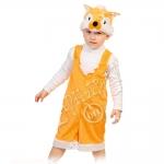 Детский карнавальный костюм из плюша Лисёнок