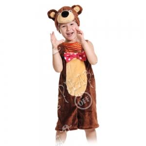 Детский карнавальный костюм из плюша Медведь цирковой