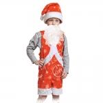 Детский карнавальный костюм из плюша Мистер Санта