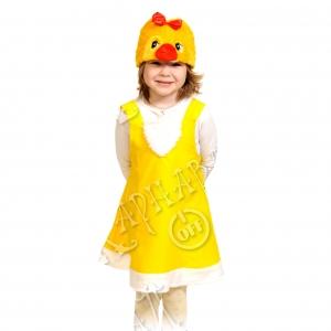 Детский карнавальный костюм Цыпочка