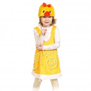 Детский карнавальный костюм из плюша Цыпочка
