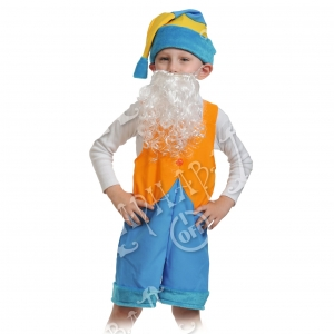 Детский карнавальный костюм Гномик 2