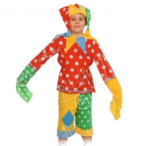 Детский карнавальный костюм Шут Гороховый