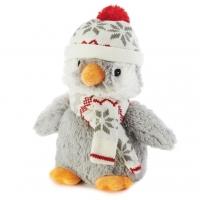 Купить Игрушка-грелка Пингвин-пигги в шапочке