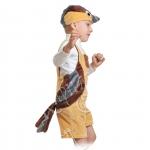 Детский карнавальный костюм из плюша Воробей