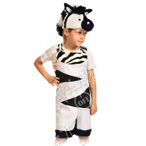 Детский карнавальный костюм Зебрёнок
