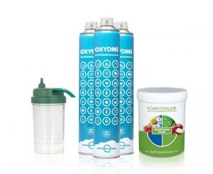 Кислородный коктейль OXYOMi-150 Витаминная смесь (150 ПОРЦИЙ)