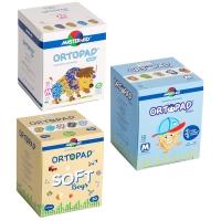 Глазные пластыри окклюдеры Ортопад комбо-набор для мальчика (3 упаковки)