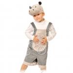 Детский карнавальный костюм Бегемотик