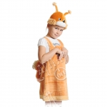 Детский карнавальный костюм из плюша Белочка