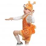 Детский карнавальный костюм из плюша Бельчонок