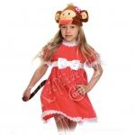 Детский карнавальный костюм Обезьянка Мэри Теремок