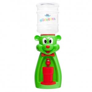 Детский кулер для воды мышка салатовая с красным — АкваНяня