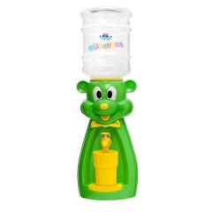 Детский кулер для воды мышка салатовая с желтым — АкваНяня