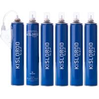 Купить Набор кислородный Prana Kislorod (6 баллончиков 16L + мягкая маска)