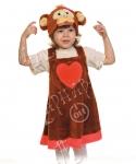 Детский карнавальный костюм из плюша Обезьянка