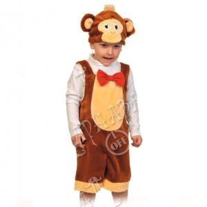 Детский карнавальный костюм из плюша Обезьянчик