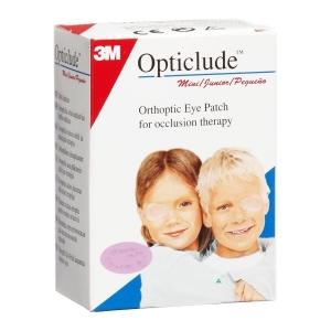 Глазные клеящиеся пластыри Оптиклюд Opticlude бежевые от 3-х лет