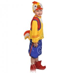 Детский карнавальный костюм Петя Петушок