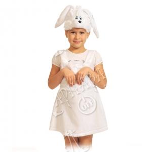 Детский карнавальный костюм из плюша Заинька