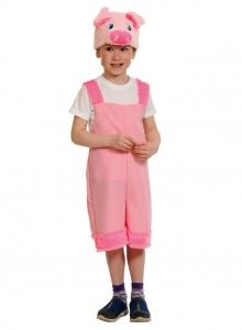 Детский карнавальный костюм Поросёнок ткань-плюш