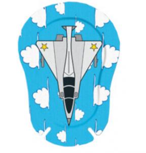 Окклюдеры детские Ортопад для мальчиков | Большие картинки Истребитель