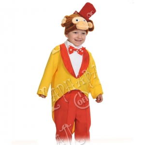 Детский карнавальный костюм Обезьянчик Томас Теремок