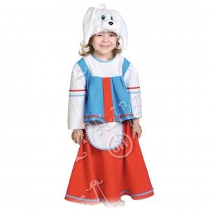Детский карнавальный костюм Зайка Хозяйка